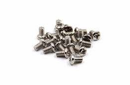 Nickel plated screw